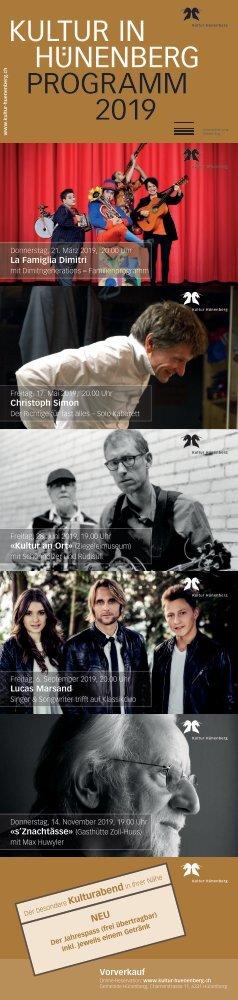 Kultur Programm 2019