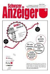 Schwyzer Anzeiger – Woche 8 – 22. Februar 2019