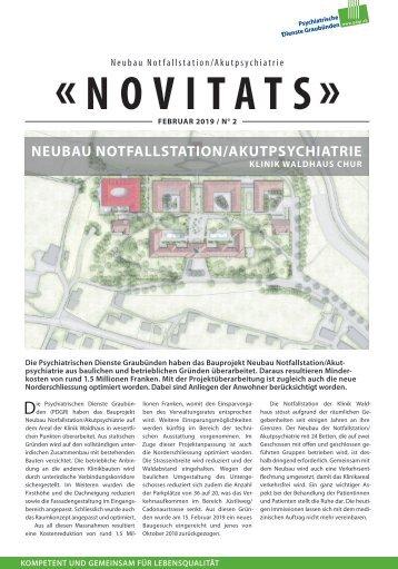 Novitats - Ausgabe Februar 2019