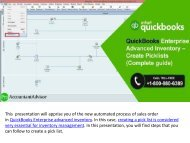 QuickBooks Enterprise Advanced Inventory – Create Picklists (Complete guide)