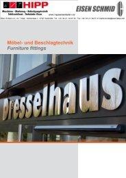 Dresselhaus-Möbelbeschlag