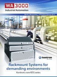 WA3000 Industrial Automation February 2019