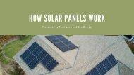 Proper Guide on How Solar Panels Work