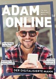 Adam online Nr. 58 Vorschau