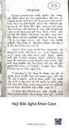 Book 34 Haji Bibi Agha Khan Case