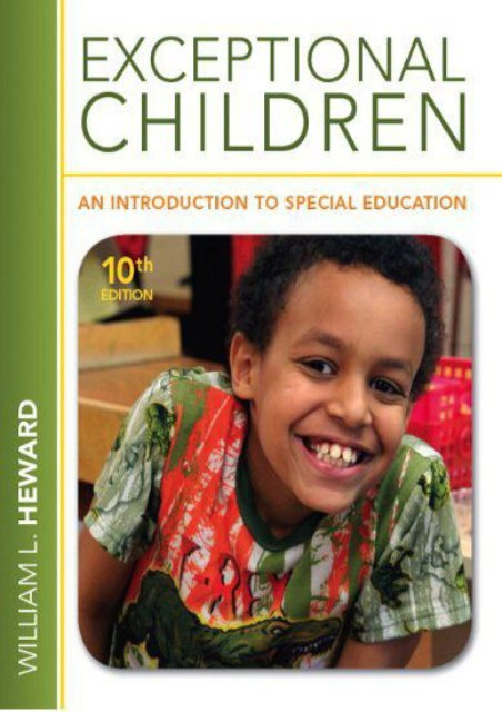 PDF Download (yumpu 94) Exceptional Children: An Introduction to Special Education  [FREE]