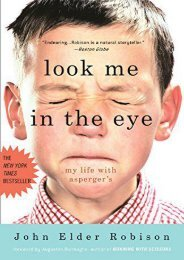 Read online (yumpu 25) Look Me in the Eye: My Life with Asperger s  [FREE]