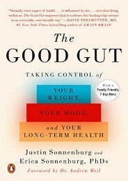 Read online (yumpu 36) The Good Gut: Taking Control of Your Weight, Your Mood, and Your Long-Term Health  [FULL]