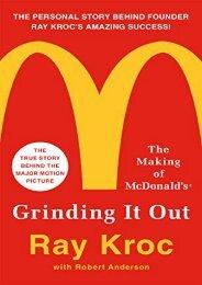 PDF Download (yumpu 80) Grinding it Out: The Making of Mcdonalds  [FREE]