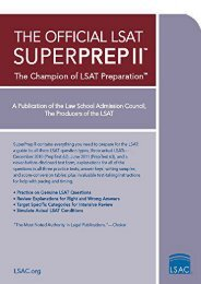 Free Download (yumpu 62) The Official LSAT Superprep II: The Champion of LSAT Prep  [READ]