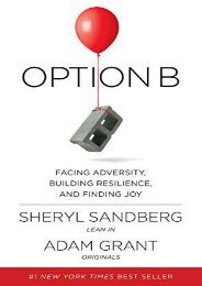 Free Download (yumpu 96) Option B: Facing Adversity, Building Resilience, and Finding Joy  [FULL]