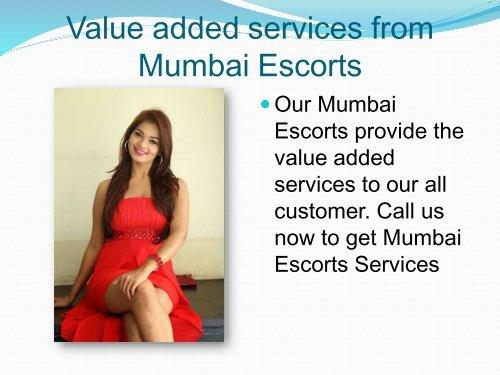 Unique services from Mumbai Independent Escorts