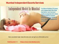 Mumbai Escorts | High Profile Call Girls 24*7