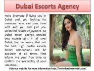 Dubai Escorts Agency