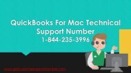 QuickBooks For Mac Technical Support Number