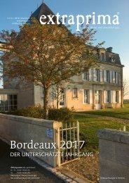 Extraprima Magazin 2019/01 Bordeaux 2017 in Subskription