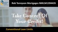 Get the Service of Conventional Loan from Rob Tennyson Mortgages