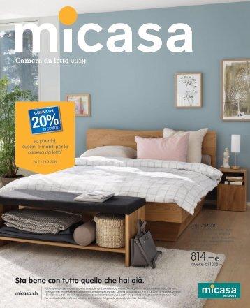 Micasa - Camera da letto 2019