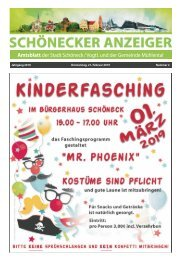Schönecker Anzeiger Februar_2019