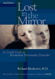 [read ebook] Lost in the Mirror: An Inside Look at Borderline Personality Disorder, 2nd Edition Download and Read online