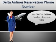 Delta Airlines Reservations @ +1 844 550 9333 Toll-Free