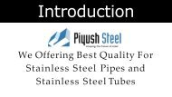 Manufacturers and exporters of High quality stainless Steel Pipes & Stainless Steel Tubes