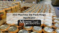 350 Machine Six Pack Rings Applicator