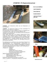 STOBITEX PU Staplerzinkenschutz