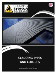 SHARP AND STRONG CLADDING  BROCHURE