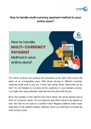 How to handle multi-currency payment method in your online store_