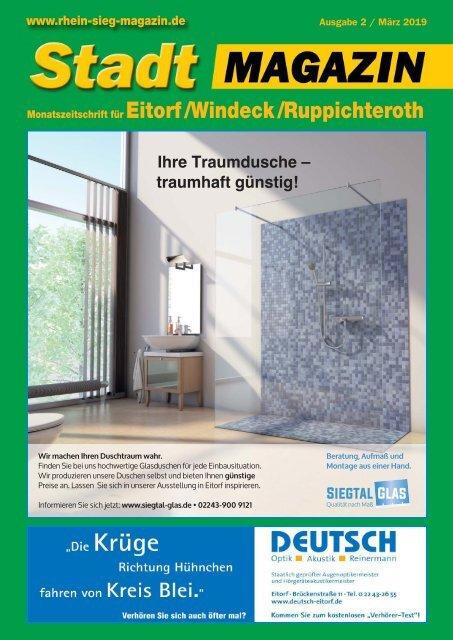 Stadt-Magazin Eitorf, Windeck, Ruppichteroth - März 2019