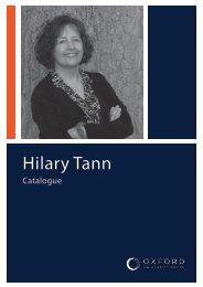 Hilary Tann Catalogue