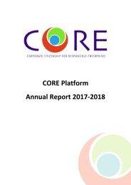 CORE Platform Annual Report 2017-2018