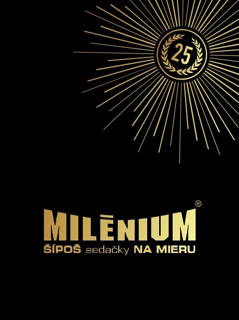 Katalóg sedaček Milénium 2019