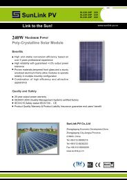 Link to the Sun! - Havelland Solar