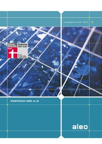 aleo solar modul S_16_ML_DE_0209.pdf - Havelland Solar