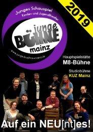 Junge Bühne Mainz - Spielzeitheft Saison 2019