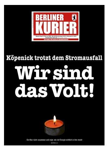 Berliner Kurier 21.02.2019