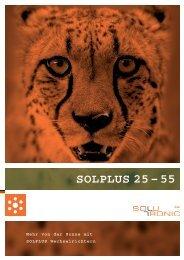 SOLPLUS 25 – 55 - Havelland Solar