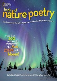 [+][PDF] TOP TREND National Geographic Kids Book of Nature Poetry: More than 200 Poems With Photographs That Float, Zoom, and Bloom! (Stories   Poems)  [READ]