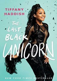 [+]The best book of the month The Last Black Unicorn  [FULL]