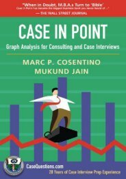 [+]The best book of the month Case in Point: Graph Analysis for Consulting and Case Interviews  [NEWS]