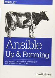 [+][PDF] TOP TREND Ansible: Up and Running [PDF]