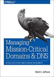 [+]The best book of the month Managing Mission-Critical Domains and DNS  [READ]