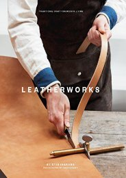 [+]The best book of the month LeatherWorks: Traditional Craft for Modern Living (Traditional Craft/Modrn Living)  [FREE]
