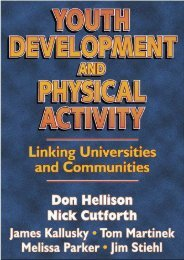 [+][PDF] TOP TREND Youth Development and Physical Activity: Linking Universities and Communities  [READ]