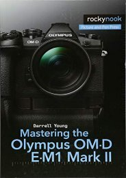 [+]The best book of the month Mastering the Olympus Om-D E-M1 Mark II  [READ]