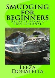 [+]The best book of the month Smudging for Beginners: Secrets from a Professional  [READ]