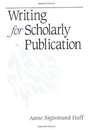 [+][PDF] TOP TREND Writing for Scholarly Publication  [NEWS]