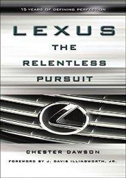 [+][PDF] TOP TREND Lexus: The Relentless Pursuit  [NEWS]